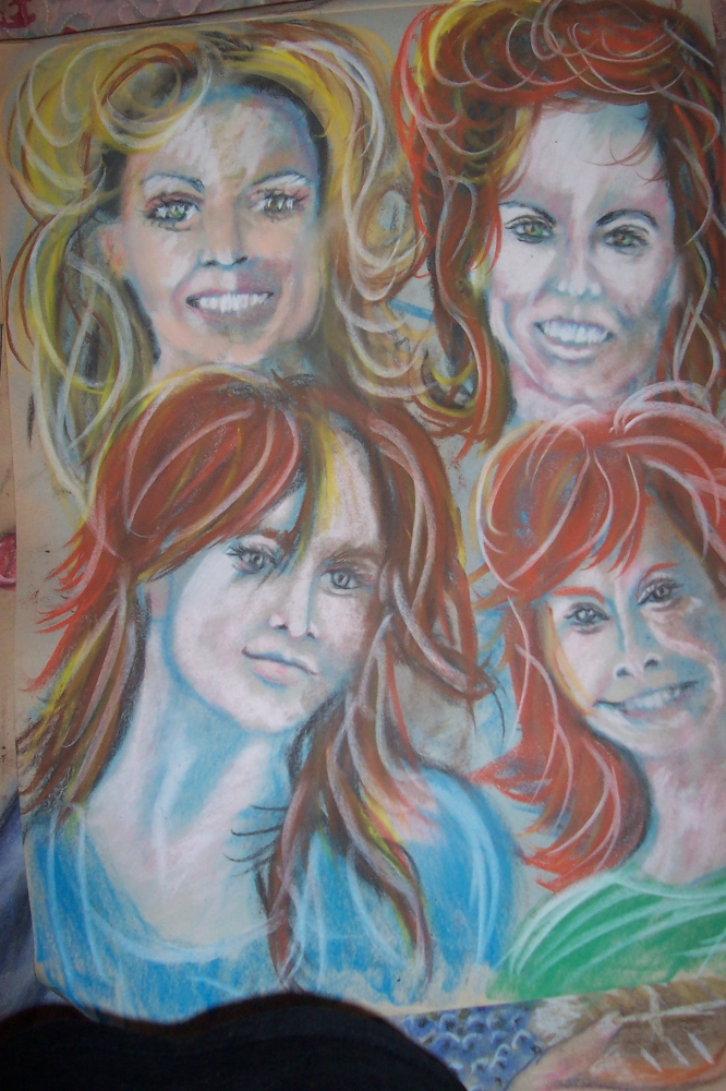 Reba McEntire, Martina McBride, Shania Twain, Faith Hill by cindykron